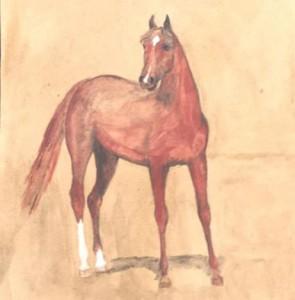 Лошадка мечты, которую я нарисовала, когда мне было 12 лет. Никого не напоминает? :-)